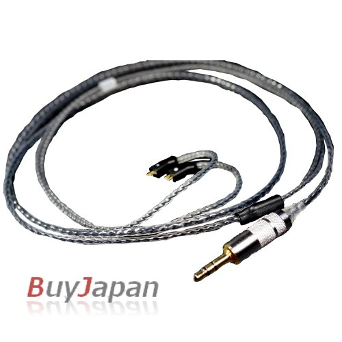 "Effect Audio Studio ""Crystal"" Black Oyaide Straight Ue Ultimate Ears 10Pro Upgrade Replacement Cable"