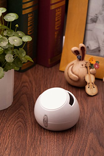 Top One Tech New Wireless Bluetooth Speakers T5 Mini Cell Phone Support Stereo Powerful Ultra Portable Wireless- Better Sound, Better Volume, Better Quallity And Incredible Online Price , (White)