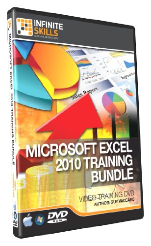 InfiniteSkills Microsoft Excel Training DVD Bundle - Beginners to Advanced Tutorial DVD Bundle (PC/Mac)