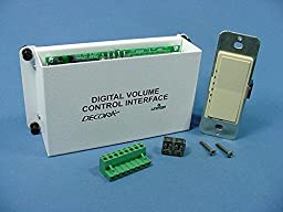 Leviton Structured Media Center Ivory Digital Audio Volume Control Module Kit 48211-IVK