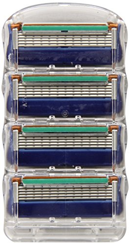Gillette Fusion Manual Men's Razor Blade Refills 4 Count