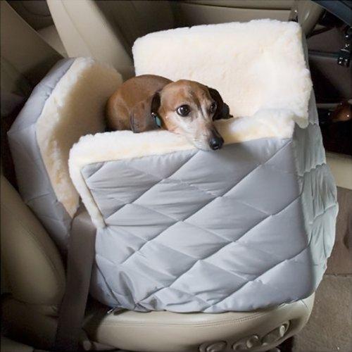 Snoozer Lookout I Dog Car Seat - Medium/Azure Plaid SN-80050