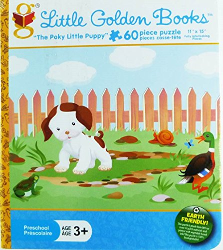 "Little Golden Books ""The Poky Little Puppy"" 60-piece Puzzle"