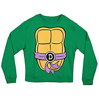Teenage Mutant Ninja Turtles Costume Crew Neck Fleece Sweatshirt