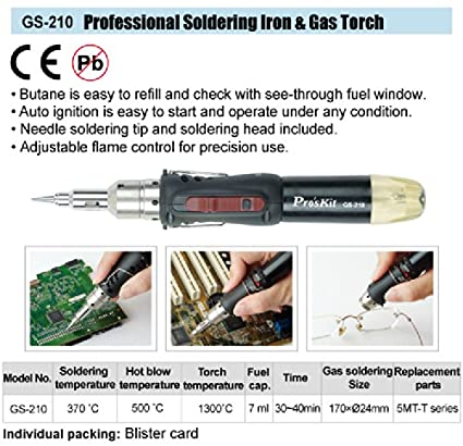 GS-210 Professional Soldering Iron