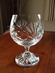 Crystal Brandy Cognac Glasses - Set of 6 - Majestic by Zawiercie