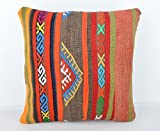 Wool Pillow, KP1032, Kilim Pillow, Decorative Pillows, Designer Pillows, Bohemian Decor, Bohemian Pillow, Accent Pillows, Throw Pillows