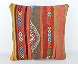 Wool Pillow, KP1032, Kilim Pillow, Decorative Pillows, Designer Pillows, Bohemian Decor, Bohemian Pillow, Accent Pillows, Throw Pillows