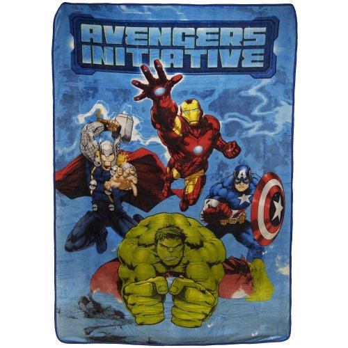 The Avengers 62 x 90 Blanket - 1