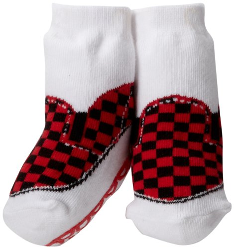 Trumpette Baby-Boys Newborn Johnny Skater Single Box Pair - Red