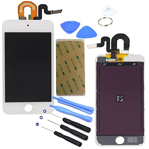White Lcd Display Touch Screen Glass Panel Digitizer Assembly Repair Part For Ipod Touch 5Th Generation 5 5G 16Gb 32Gb 64Gb