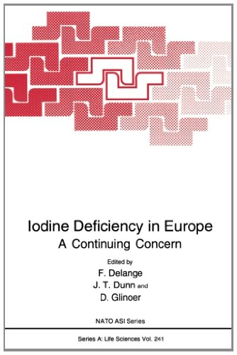 Iodine Deficiency In Europe: A Continuing Concern (Nato Science Series A:)