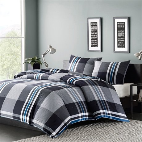 Ink + Ivy Nathan 3-Pc. Comforter Set - Full/Queen