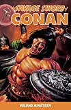 Image of Savage Sword of Conan Volume 19