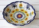 ポーリッシュポタリー (ポーランド食器) ボウルM 中鉢 取鉢 16cm|CM100-ALC72