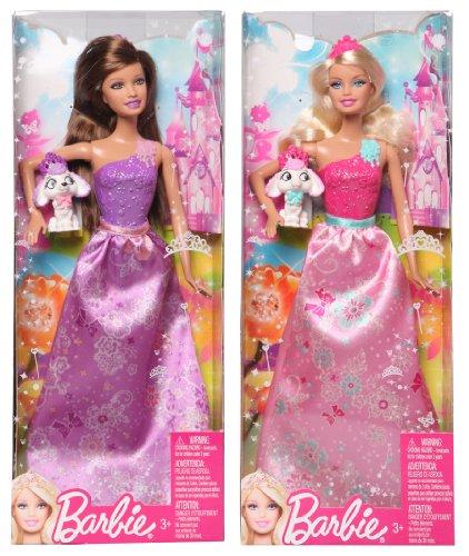 Mattel W2945 Barbie Prinzessinnen und Tier Barbie