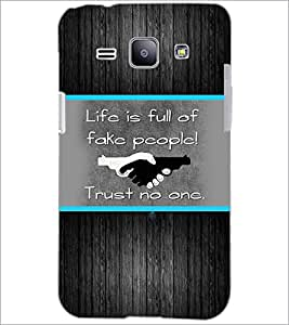 PrintDhaba Quote D-2564 Back Case Cover for SAMSUNG GALAXY J1 (Multi-Coloured)