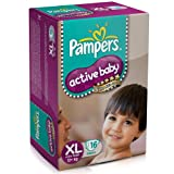 Pampers Active Baby Diaper XL16 - XL(12 Kg+), 16Pcs