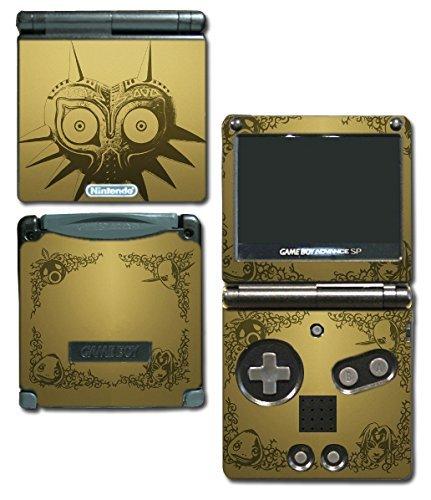 legend-of-zelda-majoras-mask-special-edition-gold-video-game-vinyl-decal-skin-sticker-cover-for-nint