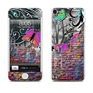 Butterfly Wall Design Protective Decal Skin Sticker for Apple iPod Touch 5G (5th Gen) MP3 Player