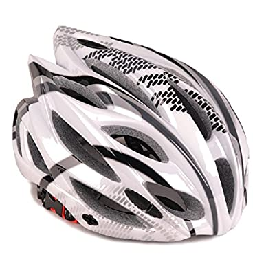 H-008 Mens Womens PC and EPS Material Road Mountain Cycle helmet 6 Colors by CLOUDWAL