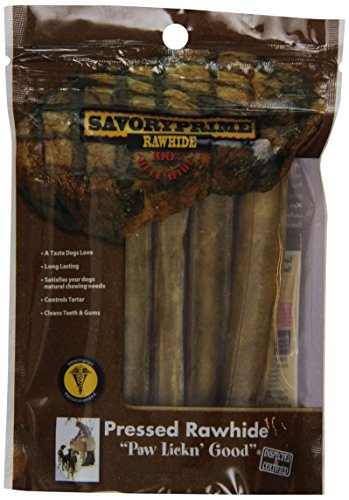 Artikelbild: Savory Prime Press Roll Tasty Dog Chewable Natural Pet Chew Treats 5in 5Pack