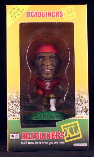 Buy Low Price Corinthian DEION SANDERS / FLORIDA STATE UNIVERSITY SEMINOLES 1998 Limited Edition Headliners XL Premier Collection * Figure (B00534KCKG)