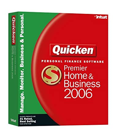 Quicken Premier Home & Business 2006 [Old Version]