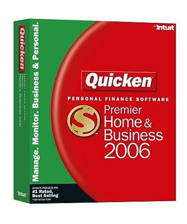 Quicken Premier Home & Business 2006 [Old Version]