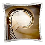 3dRose pc_91493_1 Mississippi, Jackson. Old Capitol Museum-US25 WBI0066-Walter Bibikow-Pillow Case, 16 by 16