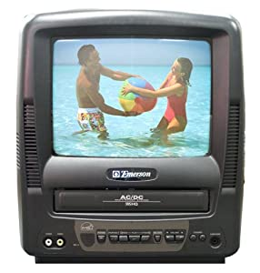 Emerson EWC0902 9-Inch Portable TV/VCR Combo