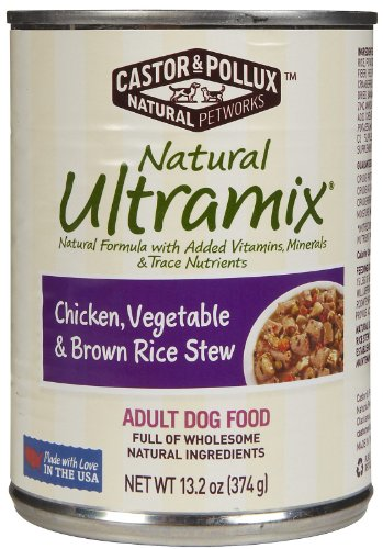 Natural Ultramix Chicken, Vgatable & Brown Rice Stew Adult Dog Food, 13.2 Ounce Cans (Case of 12) (Natural Ultramix Cat Food compare prices)