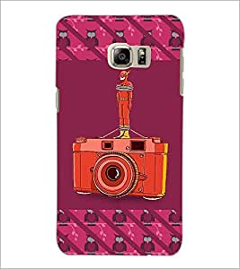 PrintDhaba Camera D-3259 Back Case Cover for SAMSUNG GALAXY NOTE 5 EDGE (Multi-Coloured)