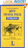 Italian-Jiffy Travel Pack/Bk