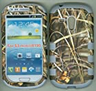 Camo Grass Grey Silicon Camoflauge 3 in 1 Hybrid Armor Hybrid Strong Defender Bumper Tuff Base Sports Combo Strong Case for Samsung Galaxy S3 S III Mini I8190 At&t G730v Verizon
