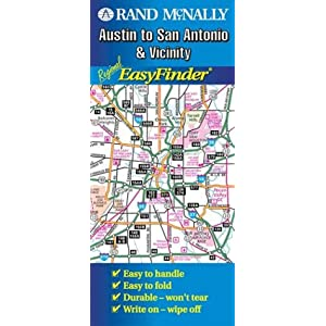 Austin to San Antonio Regional Rand McNally