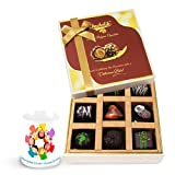 Sweet Dark Chocolate Treat With Friendship Mug - Chocholik Luxury Chocolates