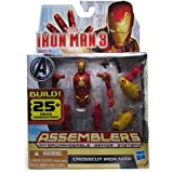 Iron Man Crosscut Iron Man 3 Movie Assemblers Action Figure
