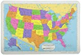 Painless Learning Map of USA Placemat