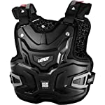 Leatt Adventure Lite Adult Chest Protector Off-Road/Dirt Bike Motorcycle Body Armor - Black / One Size