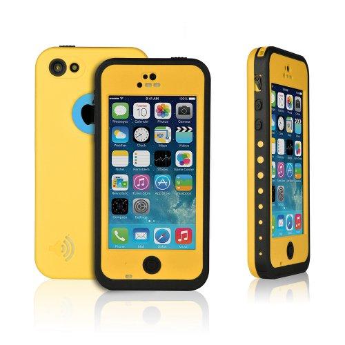 VicTsing iPhone 5C防水・防塵・防雪・耐衝撃のスーパーケース スーパースリム耐衝撃保護ケース アイフォン5C用(黄)[並行輸入品]