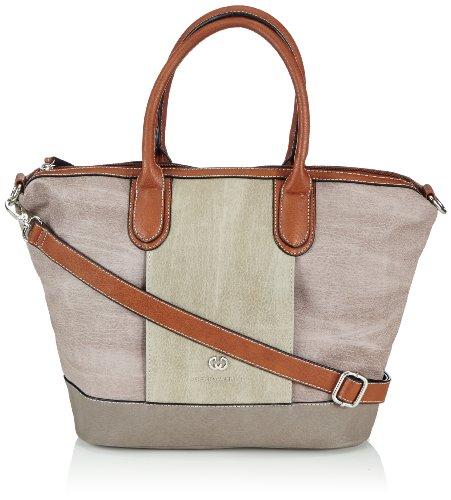 Gerry Weber Womens Living Handbag Handbag Red Rot (mauve 305) Size: 30x28x15 cm (B x H x T)