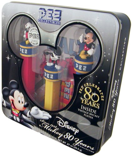 pez-collectibles-mickey-80-years-collection-with-vintage-mickey-poster-by-pez-candy-by-pez-candy