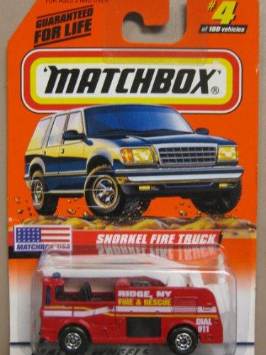 Matchbox Snorkel Fire Truck #4-100 - 1