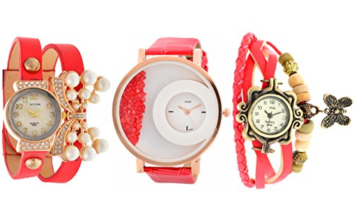 Horse Head KITCONE Analog Multi color Dial Combo Women's Watch