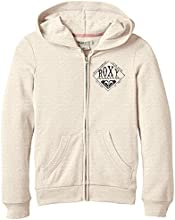 Roxy Breezychill Sweat-shirt à capuche Fille Metro Heather FR : 14 ans (Taille Fabricant : 14/XL)