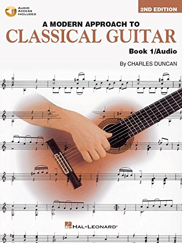 a-modern-approach-to-classical-guitar-book-1-with-cd-partitions-cd-pour-guitare-guitare-classique
