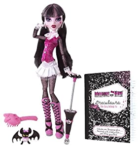 Monster High - Muñeca diseño original Draculaura (Mattel BBC65)