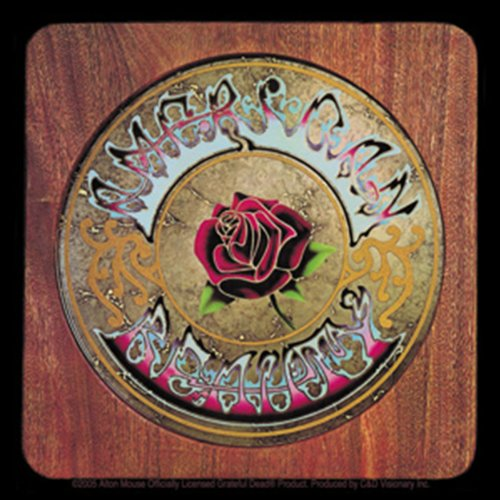 Licenses Products Grateful Dead American Beauty Sticker
