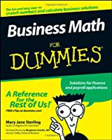 Business Math For Dummies Front Cover